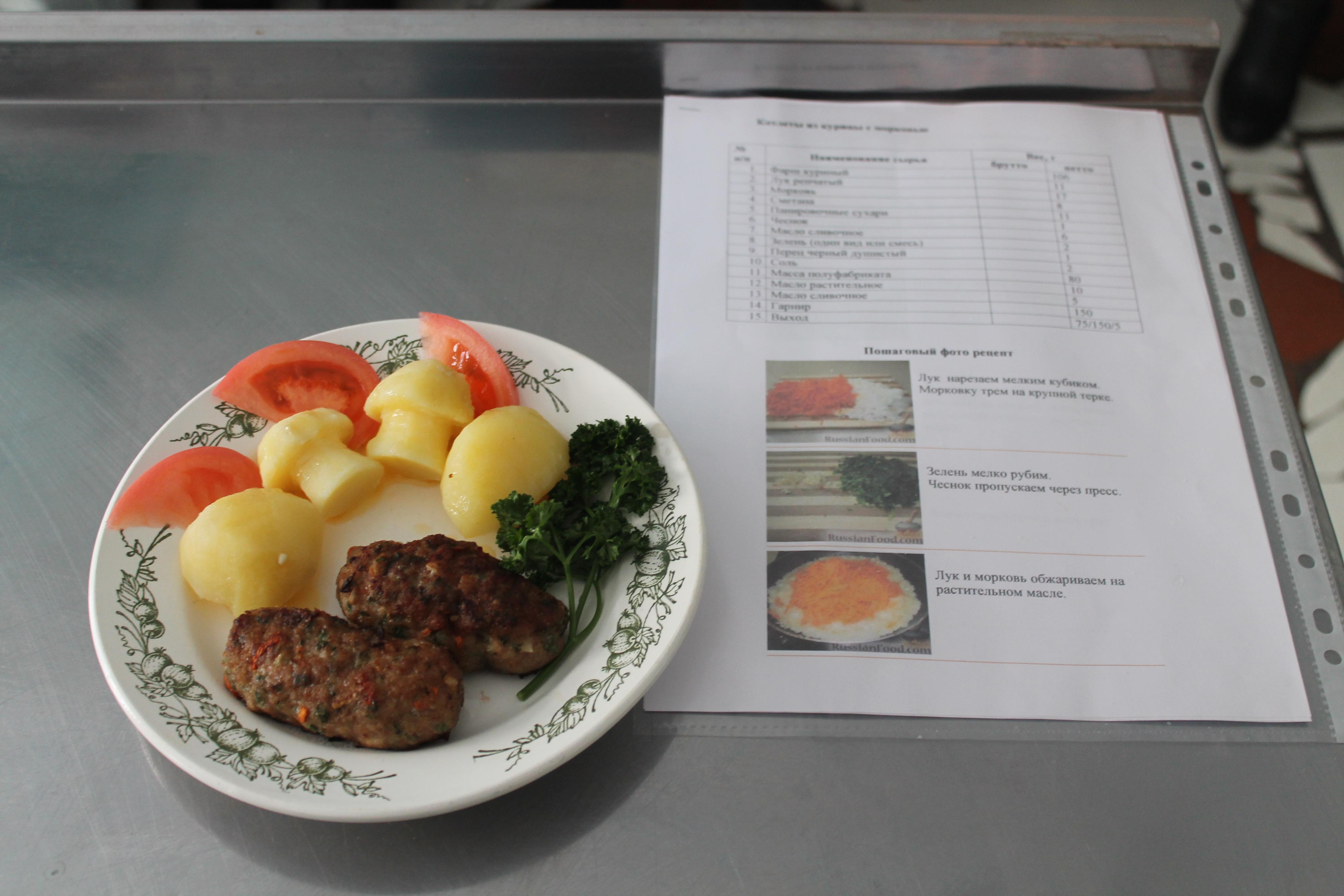 презентация к конкурсу по профессии повар