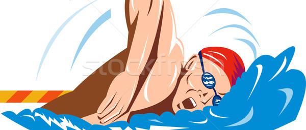 2181657_stock-photo-swimmer-swimming-retro